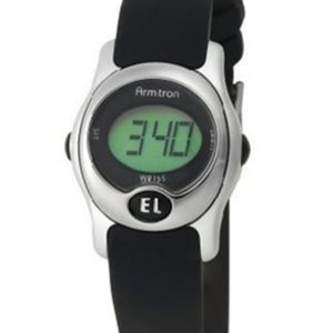 Armitron Black Silver Digital Sport Watch 45/6962